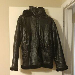 XL Genuine Leather Coat
